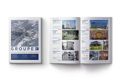 egga brochure print geneve Architecte & graphiste
